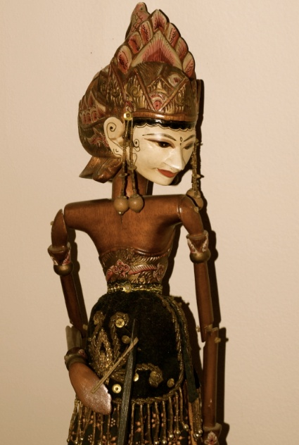 Indonesian Golek Rod puppet