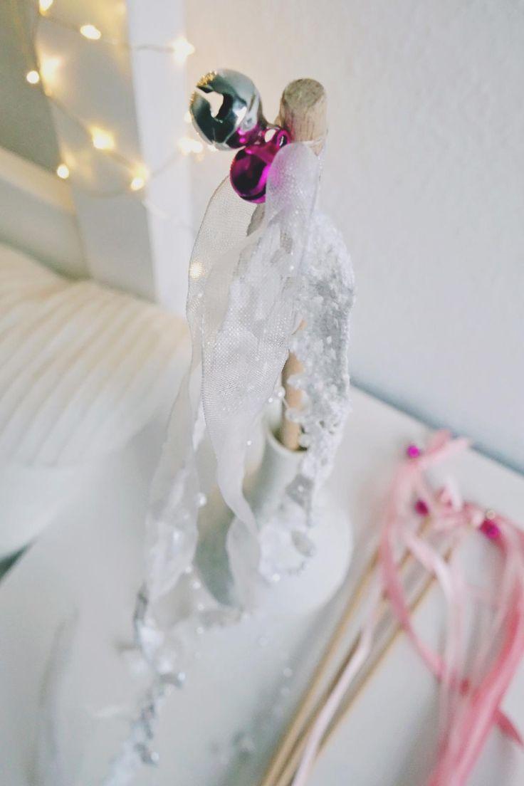 Wedding Wand mit Spitze basteln Bild 2