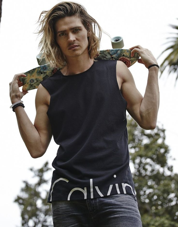 Jussie Smollett + Will Peltz Star in Calvin Klein LA Shoot