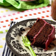 Chocolate Beet Cake with Beet Cream Cheese Frosting | Joy the Baker