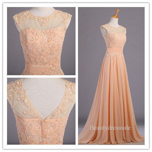2014 Cheap Long Chiffon Plus Size Prom Dress / by Beautydresssale
