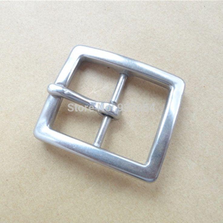 Нержавеющая Сталь Человек Пряжки Ремня, Pin Buckle, металлическая Пряжка Внутренняя Ширина 40 мм W014