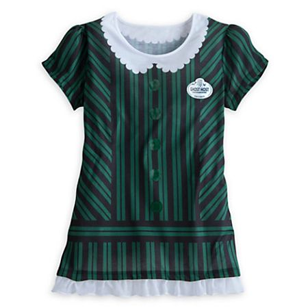 Disney Shirt for Women - Haunted Mansion Costume Tee - Ghost Host