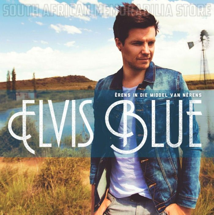 ELVIS BLUE - Erens in die Middel van Nerens - South African Idols CD *New*