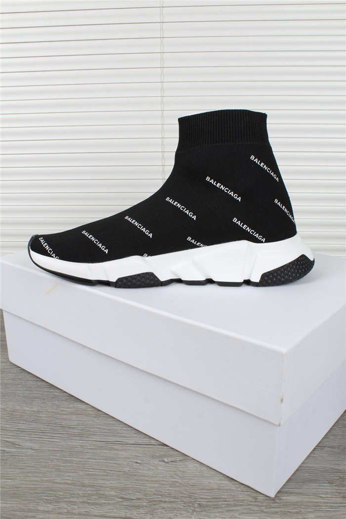 c6198860dc944 Balenciaga+Speed+Trainer+Sock+sneakers+shoes+39+BLACK+white ...
