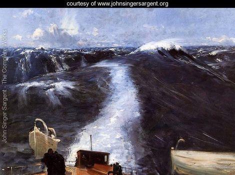 Atlantic Storm - John Singer Sargent - www.johnsingersargent.org