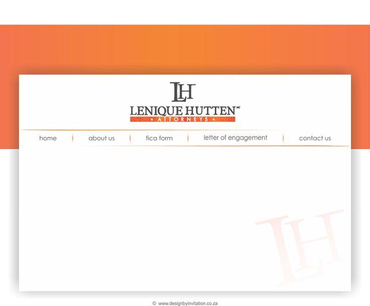 Web Concept Design 2 - Lenique Hutten  © www.designbyinvitation.co.za