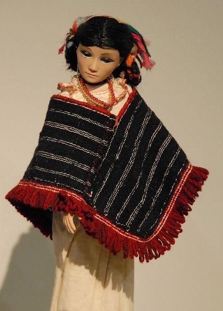 Otomi Doll Mexico by Teyacapan, via Flickr