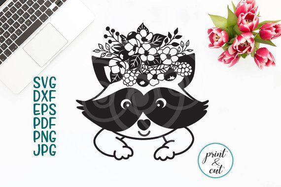 16+ Animal Faces Flowers Eyelashes Bundle Cutting Svg Dxf Printable Files Design