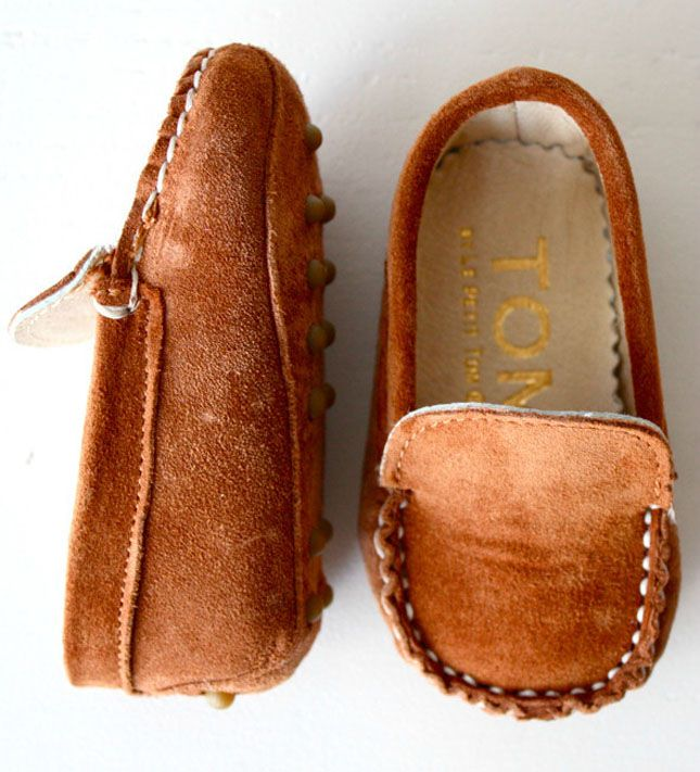 These baby moccasins are too adorable.