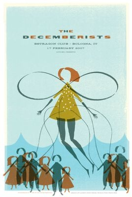 indie music poster design   the decemberists