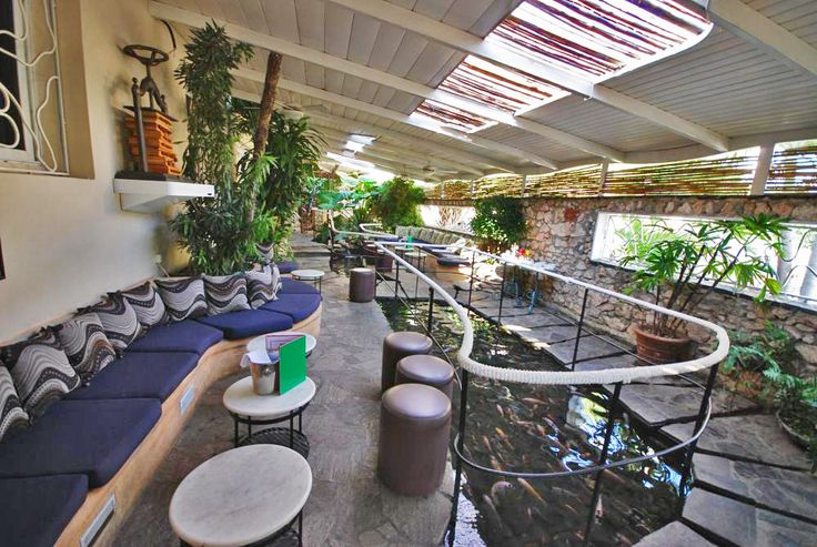 Amazing Koi Ponds at La Fontana Restaurant and Lounge in Havana, Cuba | Havana Restaurants | Cuba Stay