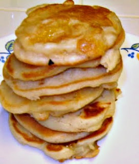 My Sweet and Savory: Mango-Banana Pancakes - Ina Garten