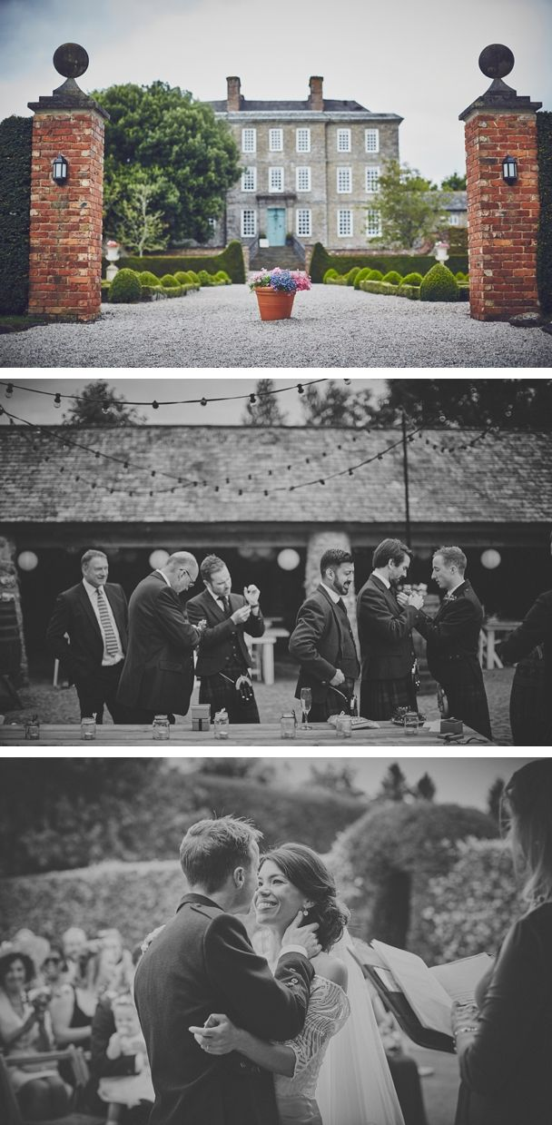 The beautiful wedding venue that is Kingston Estate in Devon. Beautiful outdoor ceremony and italian gardens, barns for the evening, it has everything!  #kingstonestate #manorhousewedding #groomsmen #outdoorceremony #devonweddingvenue