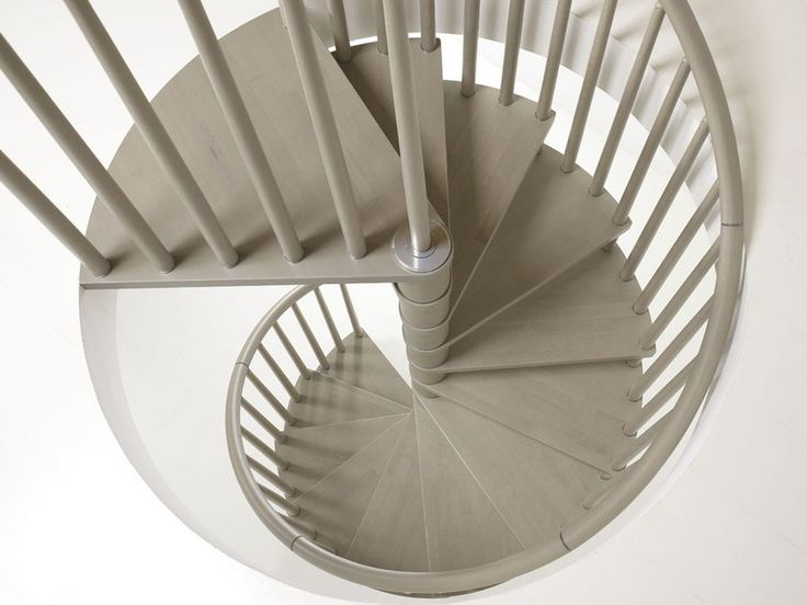 Best Genius 070 Spiral Staircase By Fontanot In 2020 Stair 400 x 300