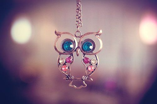 #owl: Fashion, Style, Owl Necklaces, Clothing, Jewlery, Owl Jewelry, Owl Accessories, Cute Owl, Owl Pendants