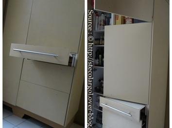 Les 176 meilleures images propos de maison bureau sur pinterest secr - Tiroir table escamotable ...