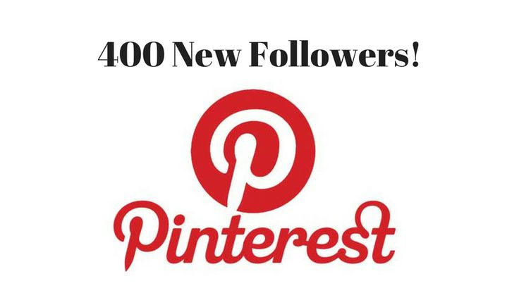 Add 400 Real Pinterest Followers to our Pinterest Account.