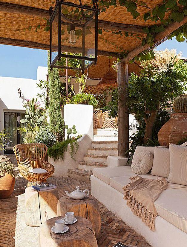 Les plus belles terrasses de Pinterest - beige