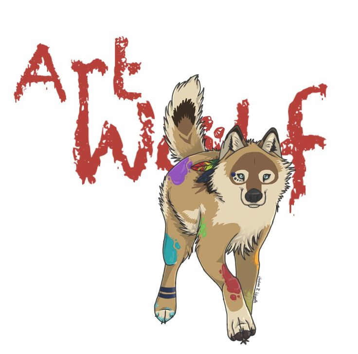 Art Wolf; drawing by ArtWolf