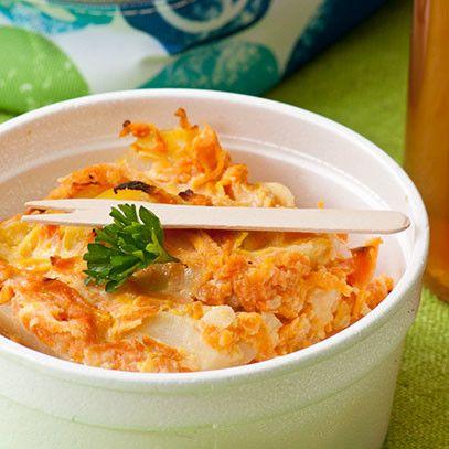 Potato   carrot casserole