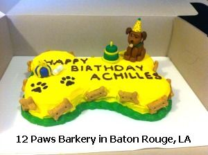 Dog Birthday Cakes In Baton Rouge