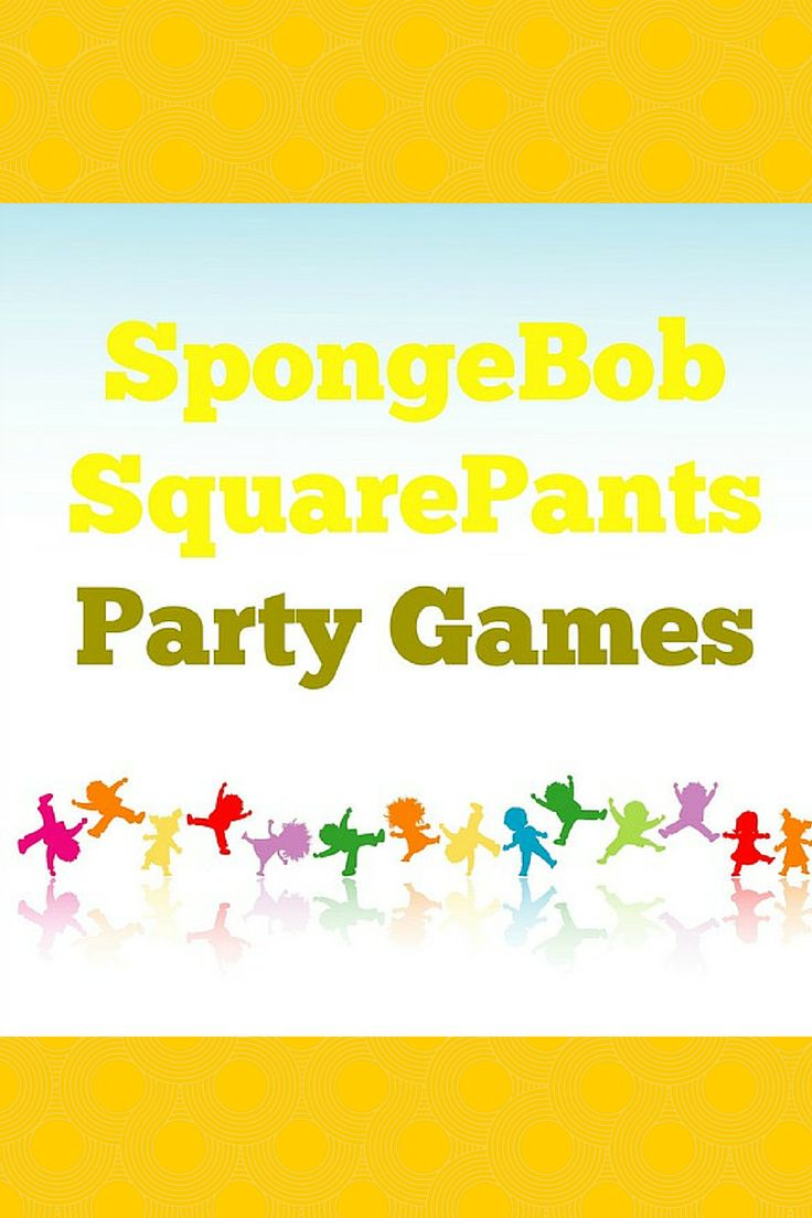 Have a blast on land and at sea with these fun SpongeBob Squarepants party games for kids! Your fans will love these easy DIY party ideas!