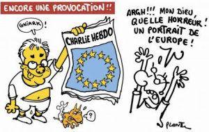 """Plantu au secours de Charlie Hebdo après avoir """"armé"""" ses assassins."""