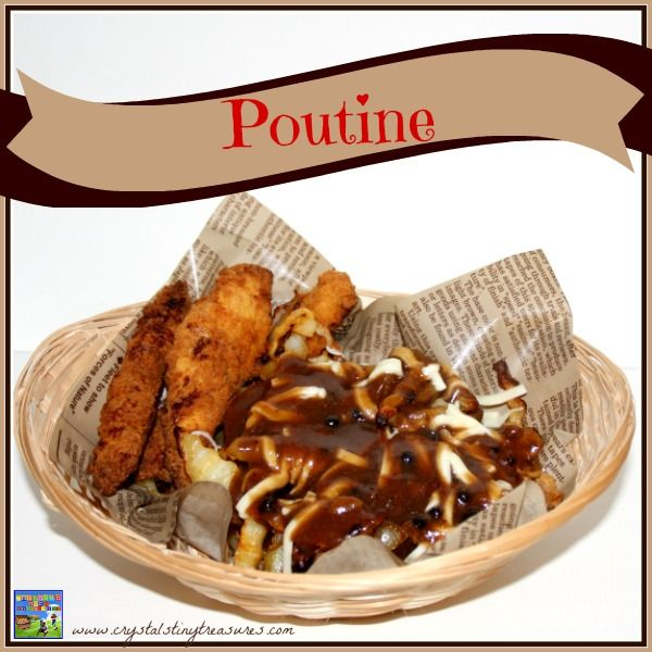 Canadian Poutine Recipe, the Montreal dish from the 1950s that's sweeping across the world. Make your own poutine sauce at home! #theultimateparty – Week 6