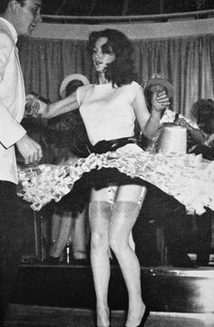 Swing Dancing - I think this is actually the actress Shirley Anne Field.