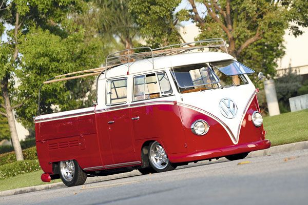 Vw Splitscreen Double Cab Safaris Racked With Cool Roof