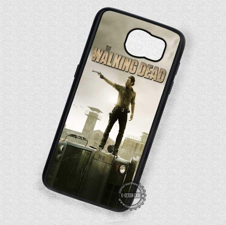 Hold a Gun The Walking Dead - Samsung Galaxy S7 S6 S5 Note 7 Cases & Covers