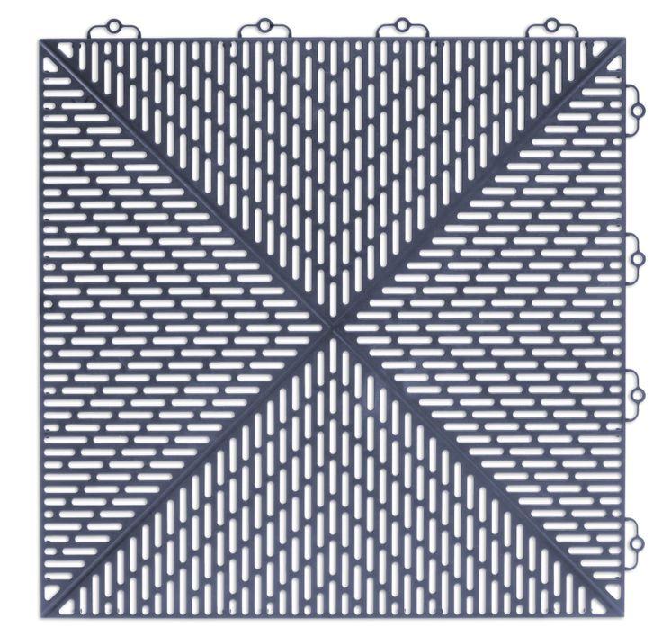 Bergo Unique Floor tile Colour: Blue Sea