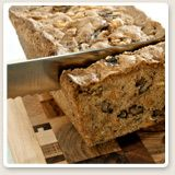 Recipe: Zucchini Bread      Applesauce and walnuts give this the warm nuttiness of a fruit bread, while zucchini brings veggie goodness. Try making it in mini-loaf pans in a toaster oven if summer still has you not wanting to heat up your whole kitchen with the big oven.