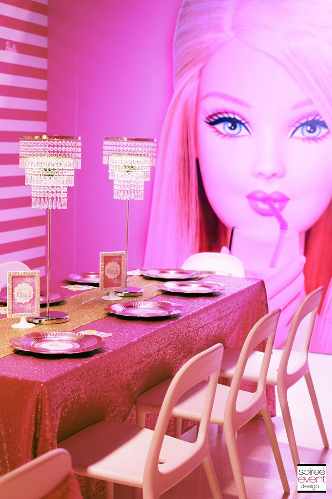 | Trend Alert: The Barbie Dreamhouse Experience™ Birthday Party | http://soiree-eventdesign.com
