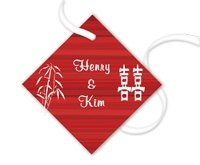 Double Happiness Gift Tag