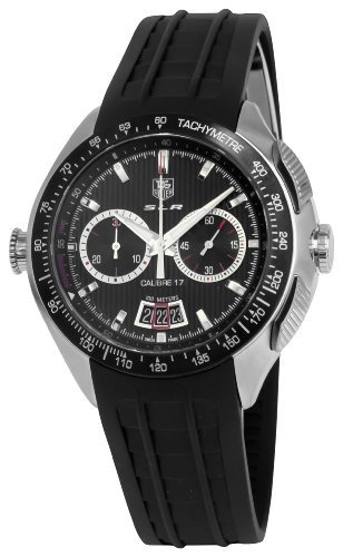 TAG Heuer Men's CAG2010FT6013 SLR Mercedes Benz Calibre Black Dial Watch from TAG Heuer @ TAG-Heuer-Watches .com