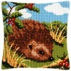 kruissteekkussen egel borduurpakket    (staat onder rubriek flora en fauna)