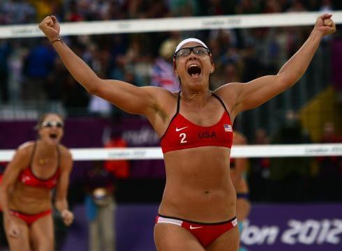 Misty May-Treanor and Kerri Walsh Jennings - Winning Gold London 2012