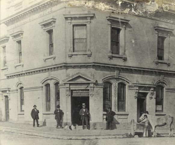 Rochester Castle Hotel, corner Johnston and George Streets, Fitzroy