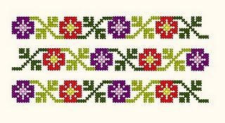 Romania: cross stitch