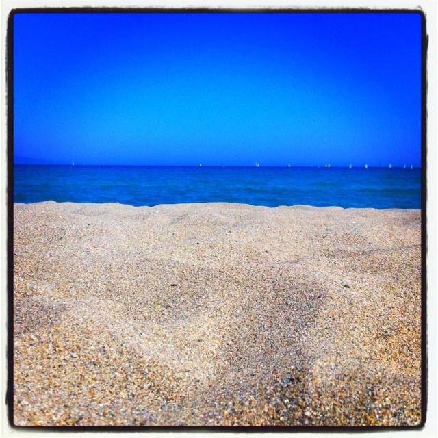 Spiaggia del Poetto, Cagliari. Picture by me. All rights reserved! :)