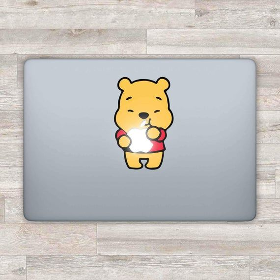 MacBook Decal Disney MacBook Sticker Pooh MacBook Air Winnie The Pooh MacBook Pro 2016 Retina 13 App