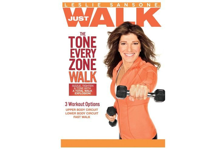 Use these Indoor Walking Videos to Walk Off the Pounds at Home: Leslie Sansone: The Tone Every Zone Walk