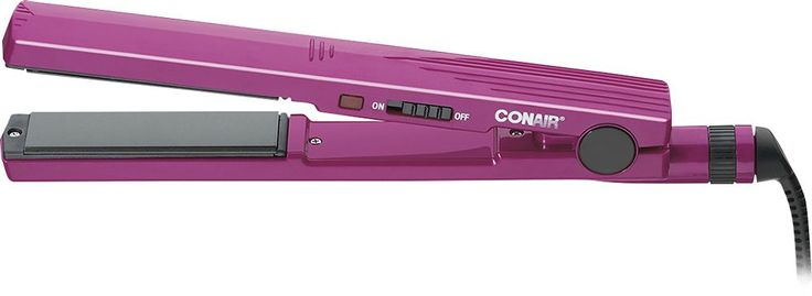 "Conair - 1"" Ceramic Hair Straightener - Pink"