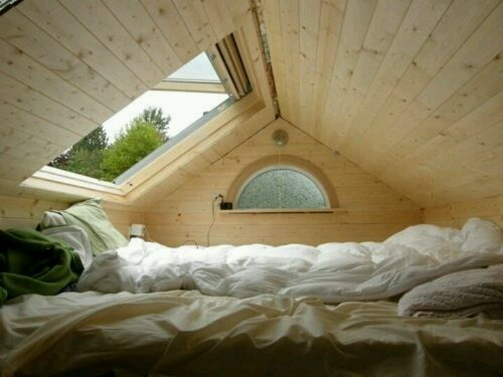 cute attic idea or above garage