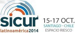 SICUR Latinoamérica 2014, Santiago de Chile 15 - 17 de Octubre en Espacio Riesco: EXHIBICIÓN INTERNACIONAL DE EQUIPOS, PRODUCTOS, TECNOLOGÍAS Y SERVICIOS PARA LA SEGURIDAD INTEGRAL. Del 15 al 17 de octubre en Espacio Riesco, en Santiago de Chile. Participación de más de 120 expositores y la asistencia de 6.000 profesionales. DESCARGAR FICHA: http://www.sicurlatinoamerica.cl/varios/flyer1_sicur_latinoamerica2014.pdf