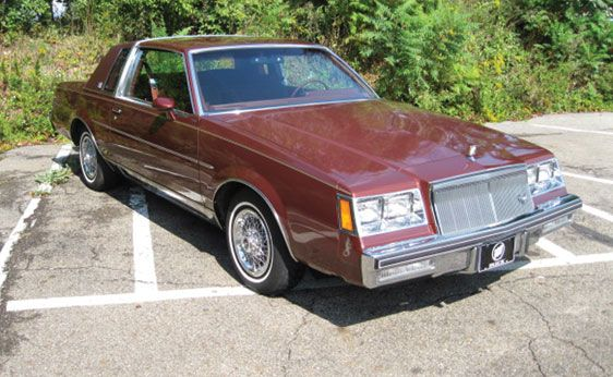 1982 Buick Regal Limited...I had one of these but mine was a pretty two tone green. So comfy.