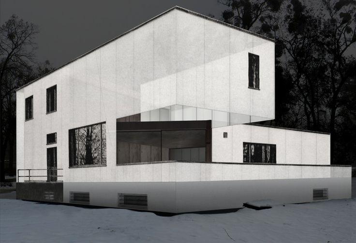 gropius house plan - Google-haku
