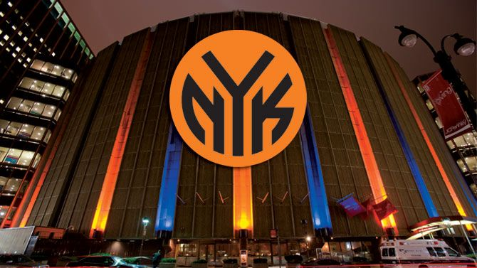 The New York Knicks NBA Basketball. #NBA #Knicks